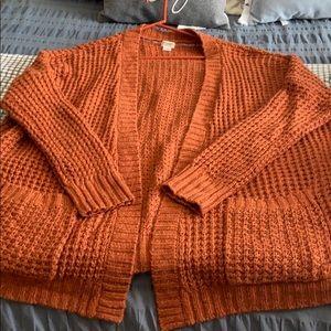 Soft Oversized Chunky Cardigan